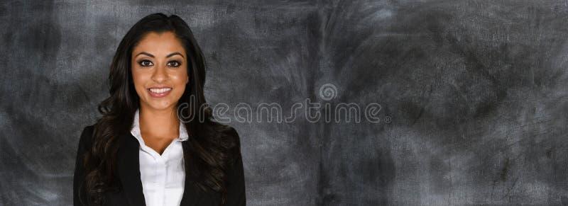 Retrato femenino del negocio imagenes de archivo