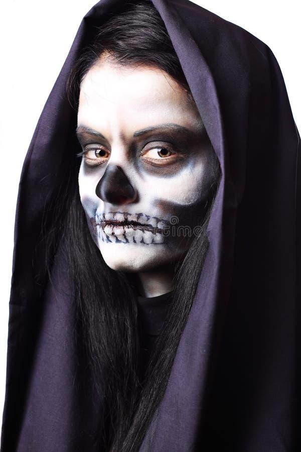 Retrato gótico da mulher inoperante fotos de stock royalty free
