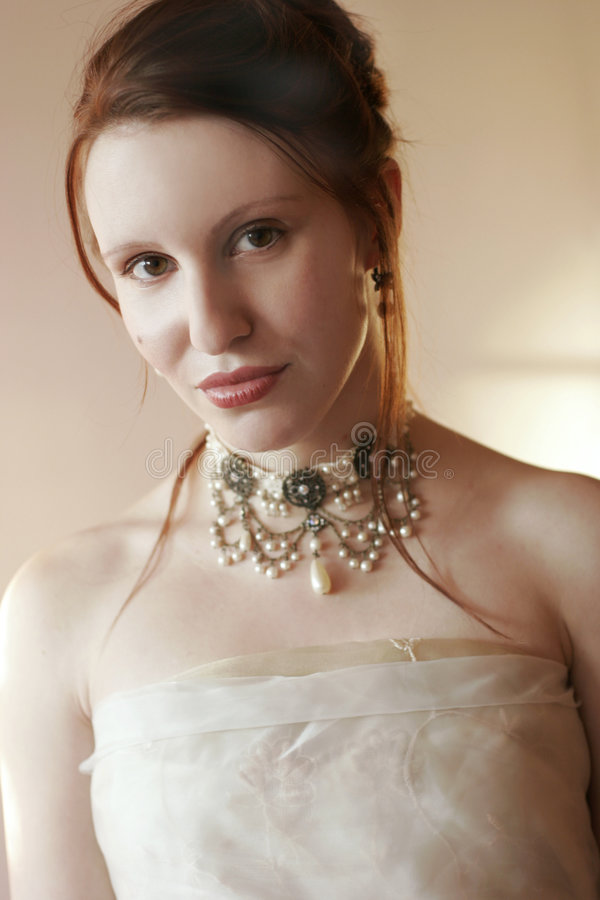 Retrato glamoroso imagem de stock royalty free