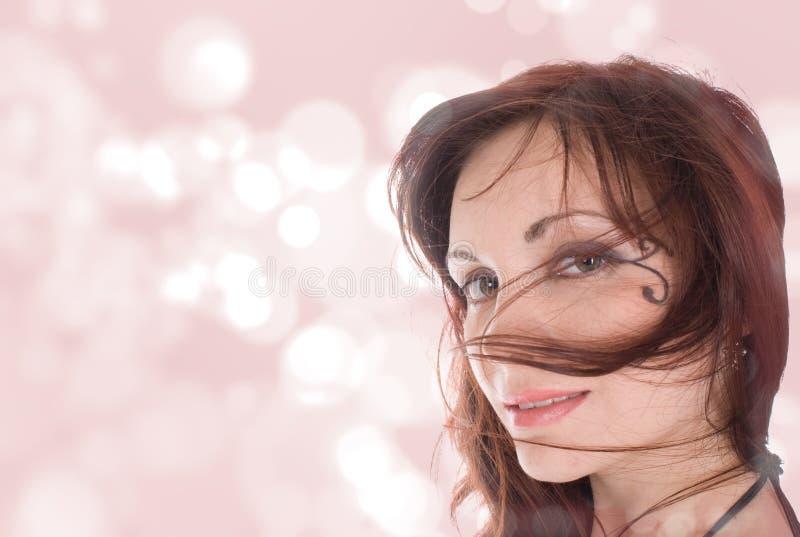 Retrato hermoso de la muchacha fotografía de archivo libre de regalías