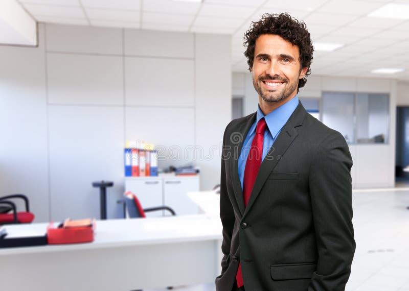 Retrato hermoso del hombre de negocios maduros imagen de archivo