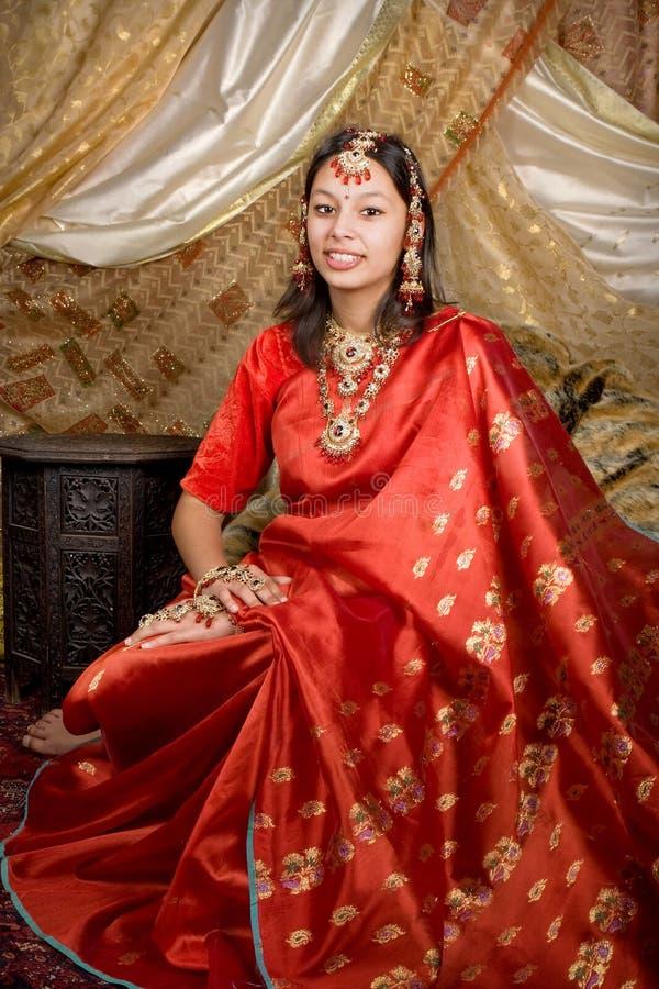 Retrato indiano foto de stock royalty free