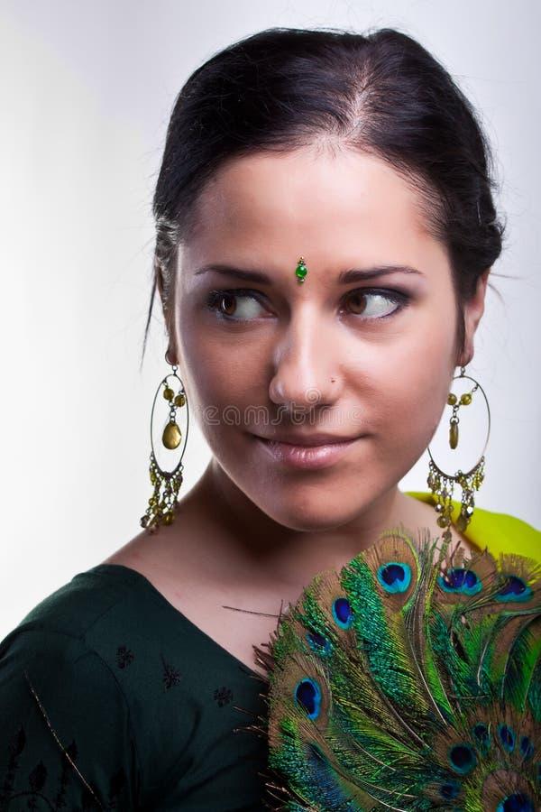 Retrato indio fotografía de archivo libre de regalías