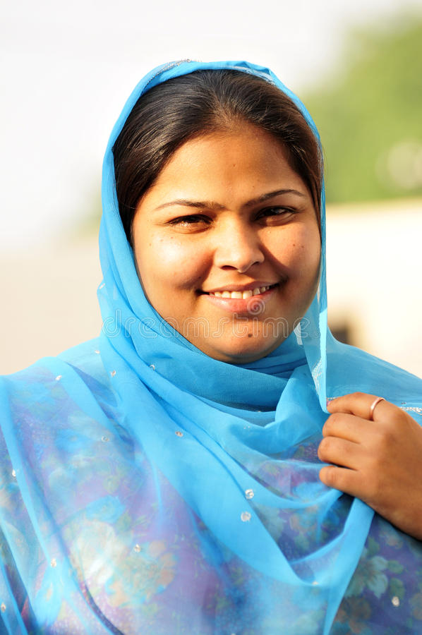 Retrato indio de la muchacha imagen de archivo