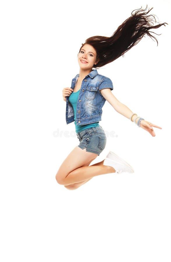 Retrato integral de una muchacha hermosa joven de e que lleva un sho imagen de archivo libre de regalías