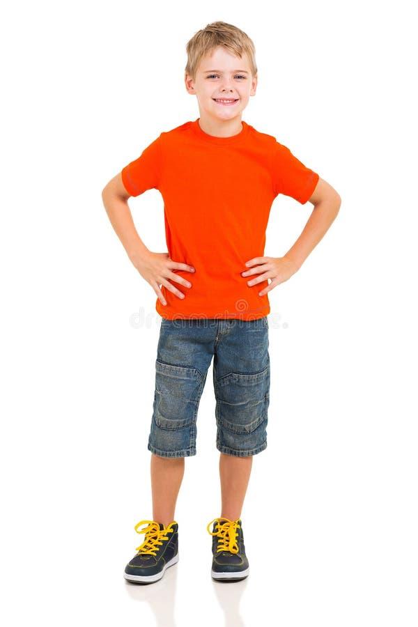 Retrato integral del muchacho imagen de archivo libre de regalías