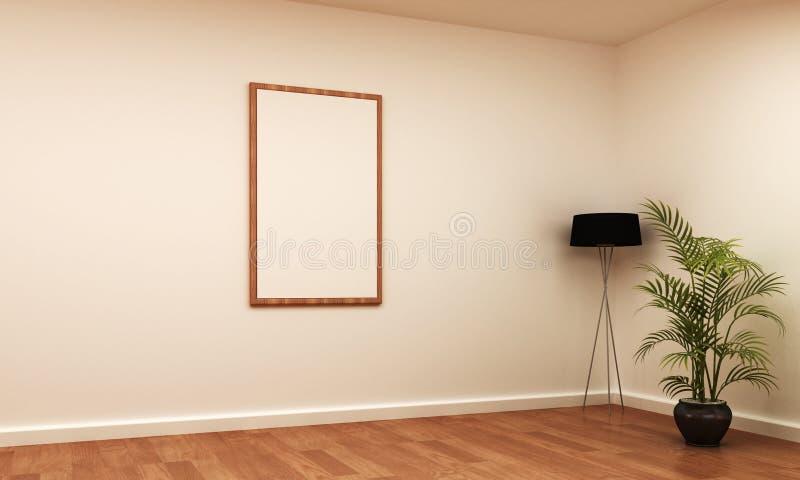 Download Retrato Interior Do Frame Da Cena Ilustração Stock - Ilustração de projeto, edifício: 26501514