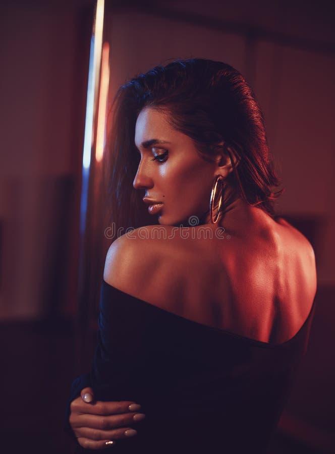 Retrato macio da mulher fotos de stock royalty free