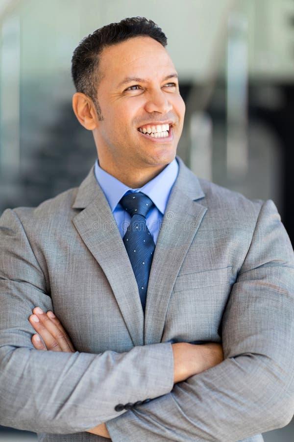 Retrato maduro do executivo empresarial fotos de stock royalty free