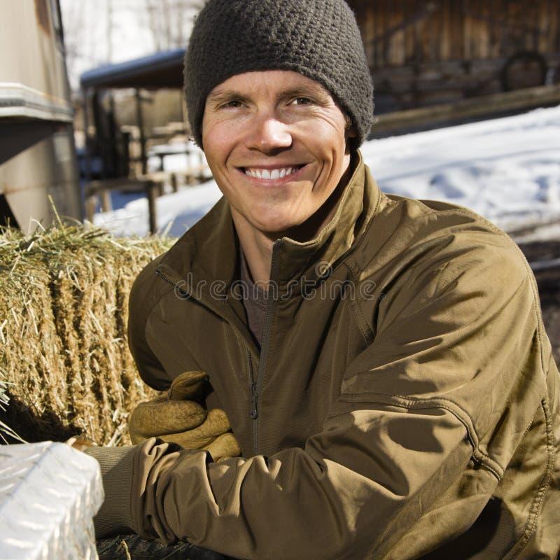 Retrato masculino. fotos de stock royalty free