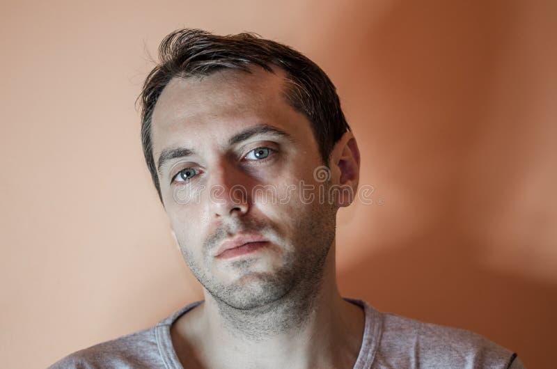 Retrato masculino foto de archivo