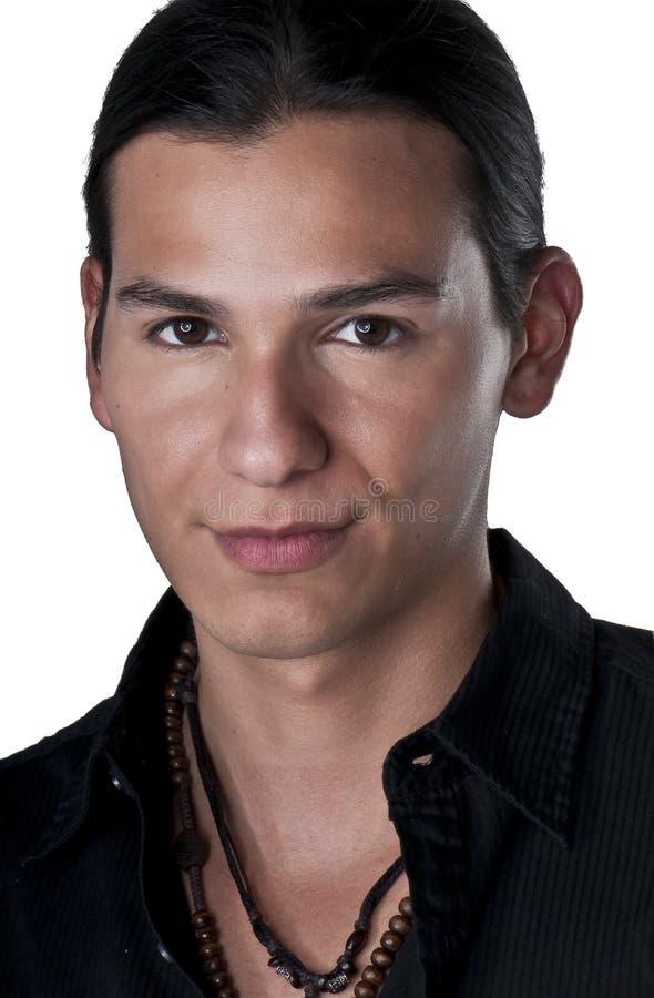 Retrato masculino fotografia de stock