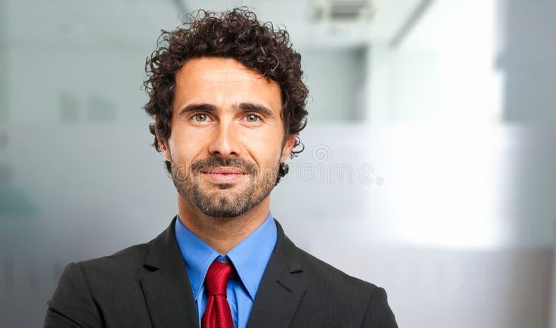 Retrato masculino maduro hermoso del encargado imagen de archivo libre de regalías
