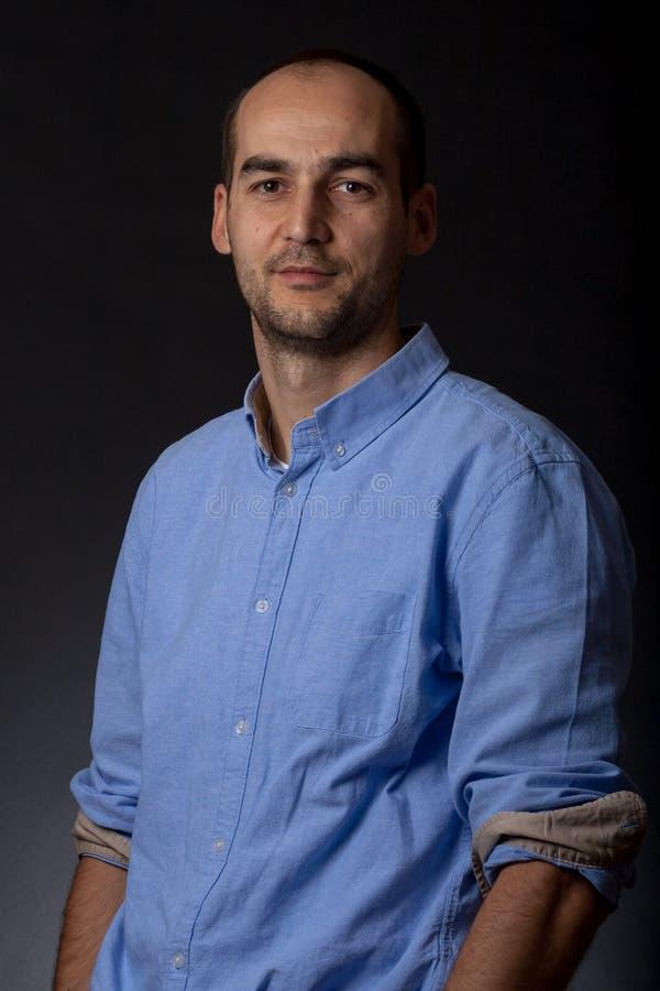 Retrato masculino ocasional fotografia de stock