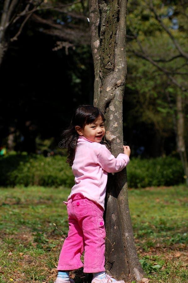Retrato - menina ao ar livre imagem de stock royalty free
