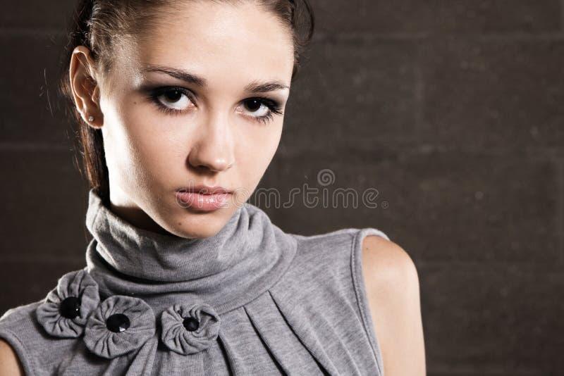 Retrato modelo bonito imagens de stock royalty free