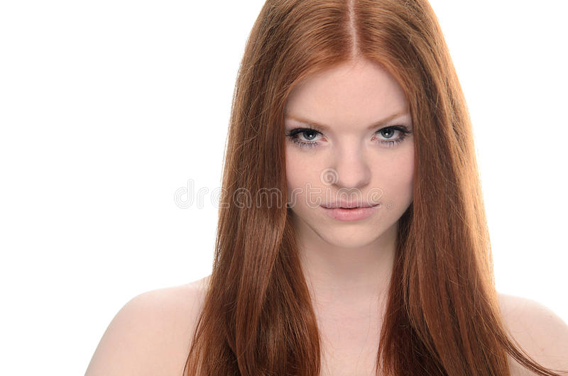 Redhead da beleza imagem de stock royalty free