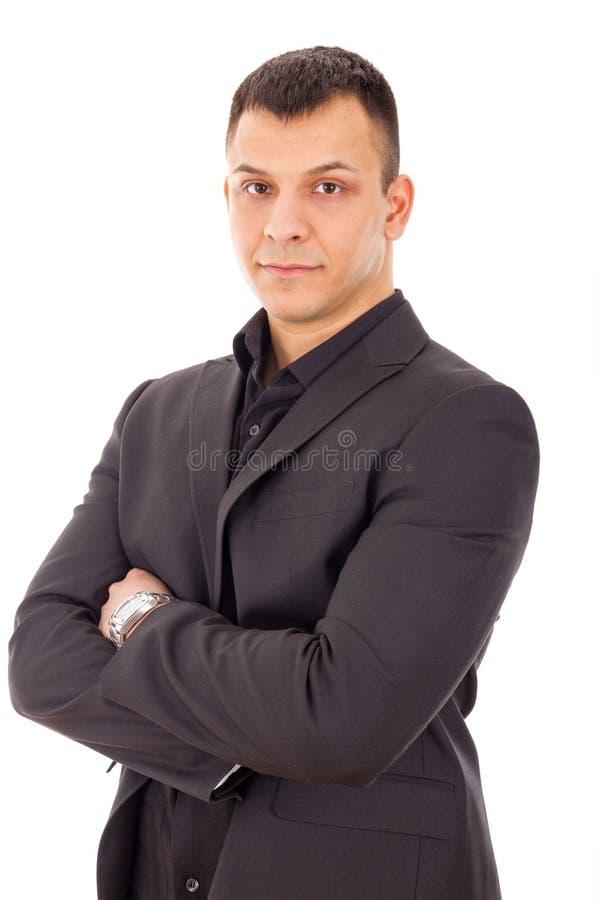 Retrato ocasional do homem de negócios foto de stock