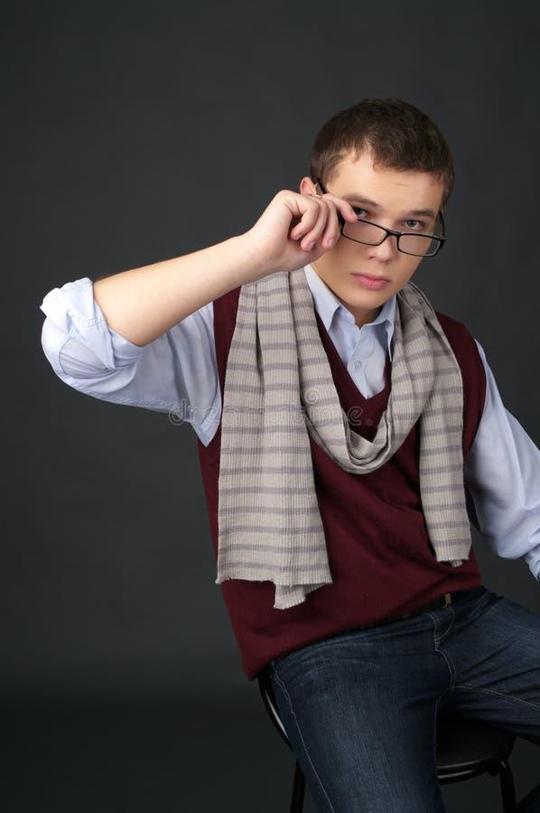 Retrato ocasional joven del hombre imagen de archivo libre de regalías