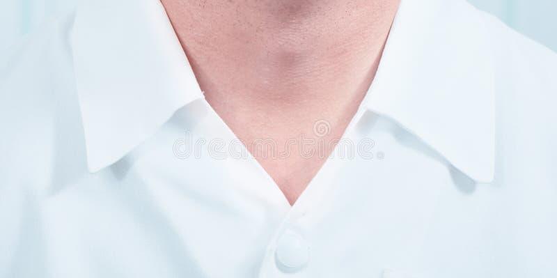 Retrato parcial do doutor masculino imagens de stock