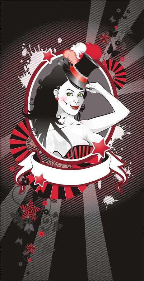 Retrato Pin-para arriba libre illustration