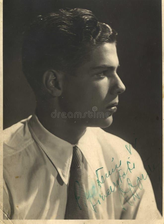 Retrato romeno novo do homem foto de stock royalty free