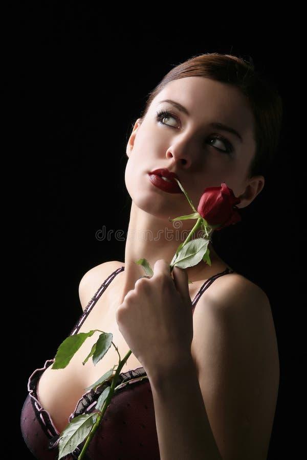 Retrato sensual 2 imagens de stock