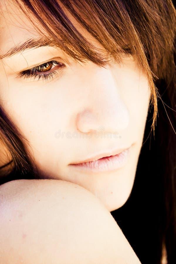 Retrato sensual da mulher fotos de stock royalty free