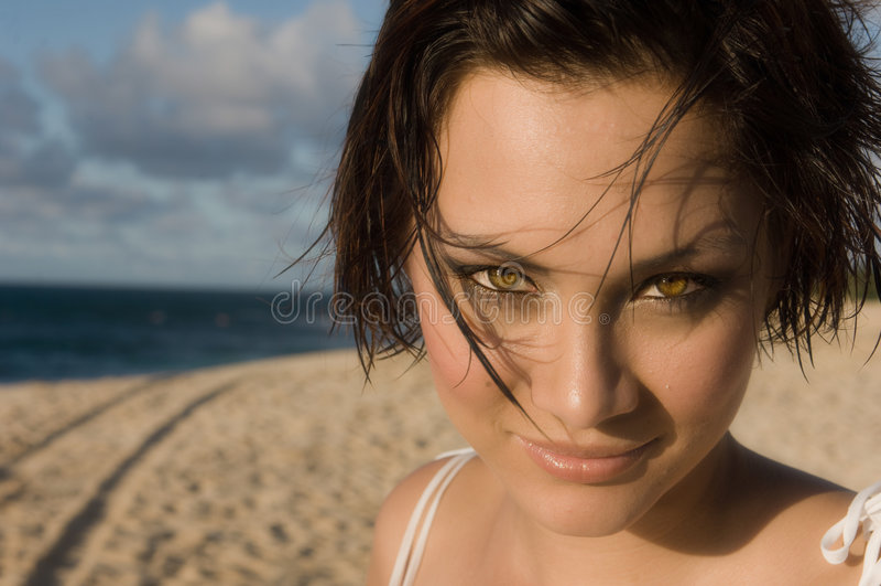 Retrato 'sexy' da menina foto de stock royalty free