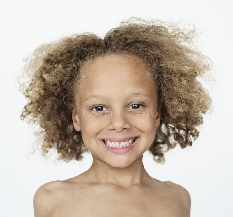 Retrato sonriente feliz del niño fotos de archivo libres de regalías