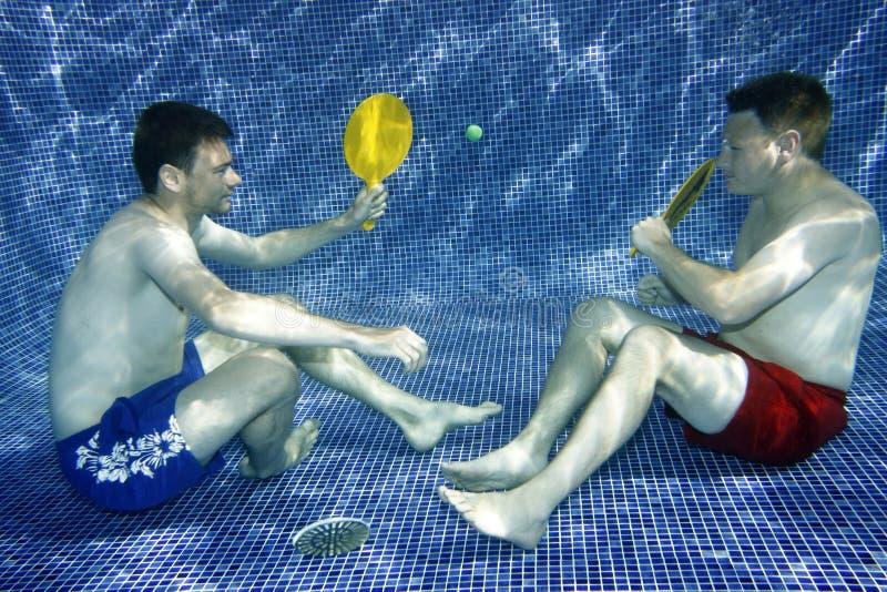 Retrato subaquático fotografia de stock