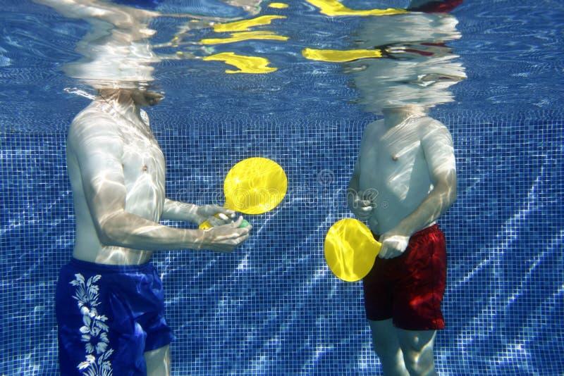 Retrato subaquático imagens de stock royalty free