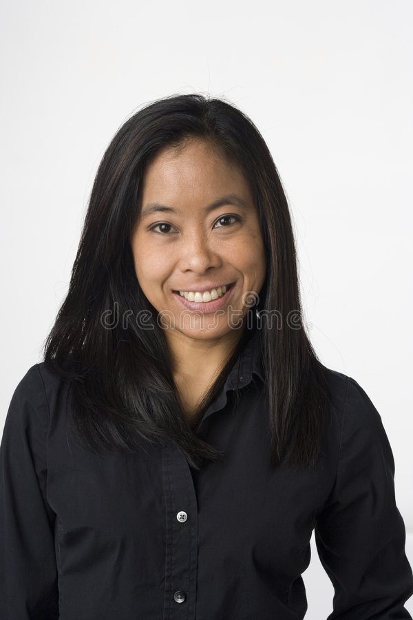 Retrato vietnamiano da mulher imagens de stock royalty free
