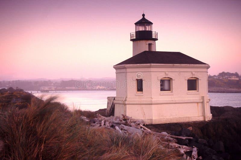 Retratos da costa de Oregon foto de stock