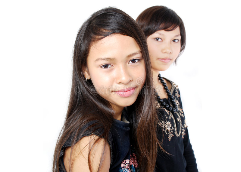 Retratos das crianças fotos de stock royalty free