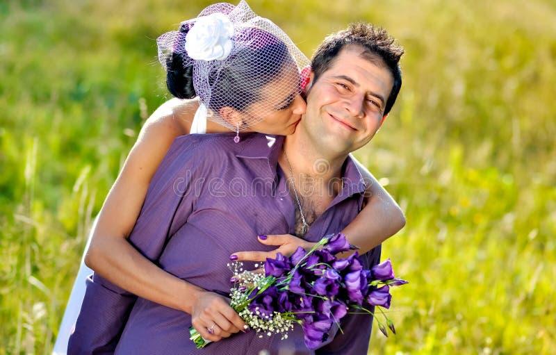 Retratos de boda foto de archivo libre de regalías