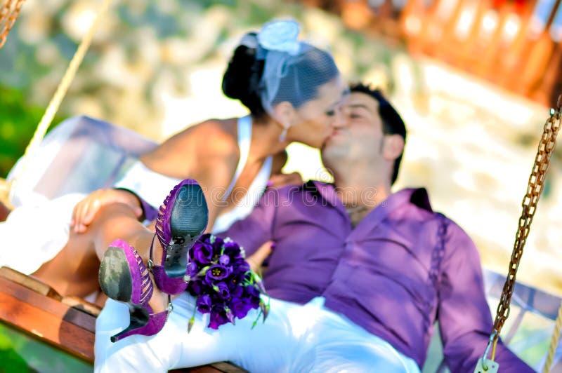 Retratos de boda foto de archivo