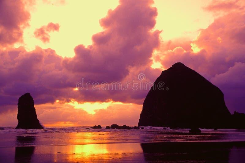 Retratos de la costa de Oregon imagenes de archivo