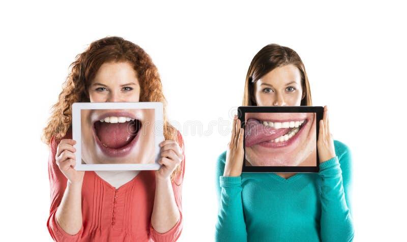 Retratos engraçados imagens de stock royalty free