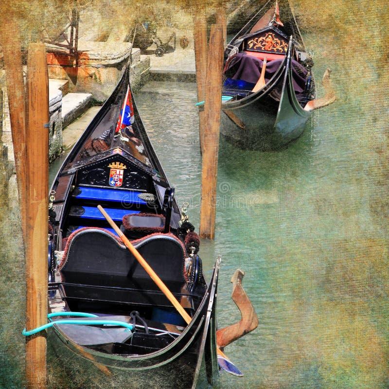 Retratos Venetian imagem de stock