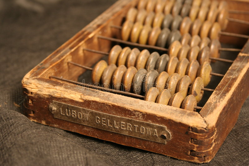 Retro abacus-2 royalty free stock photography