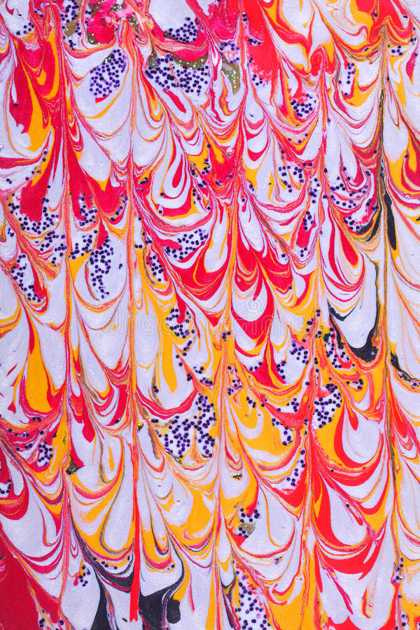 Retro Abstract Paint Design Royalty Free Stock Image