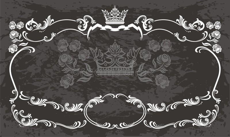 Retro abstracte achtergrond vector illustratie