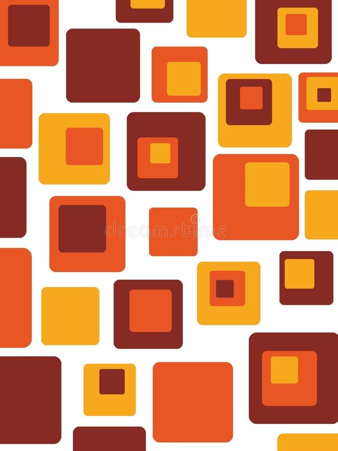 Retro abstracto libre illustration