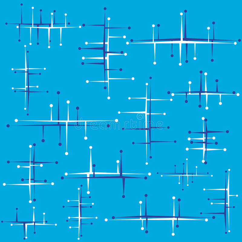 retro abstrakt design vektor illustrationer