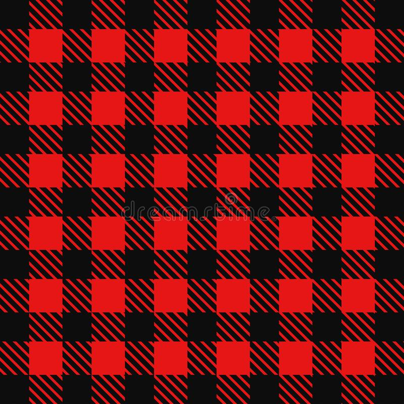 Retro achtergrond rood cowboyoverhemd vector illustratie