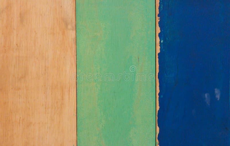 Retro Achtergrond van de Kleuren Houten Textuur in Uitstekend Thema stock afbeeldingen