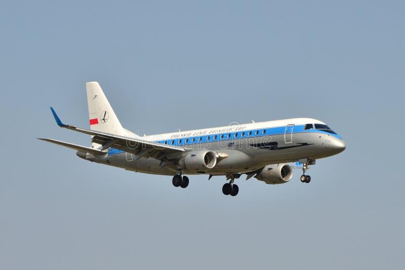 Retro aereo del LOTTO immagine stock