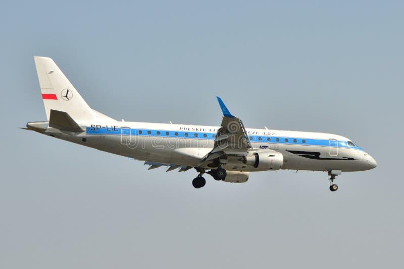 Retro aereo del LOTTO fotografia stock libera da diritti