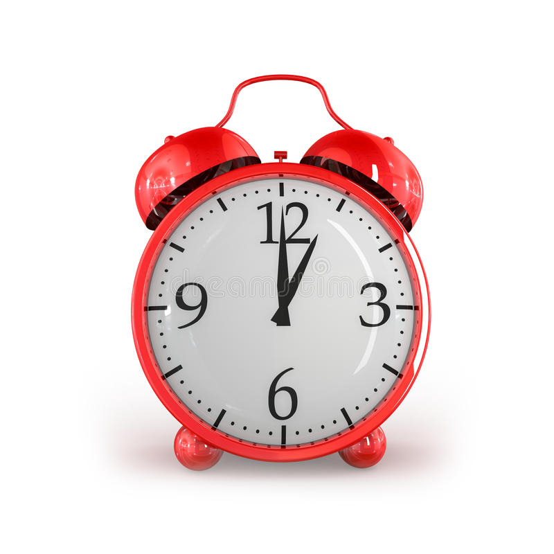 Retro Alarm Clock Stock Images